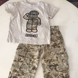 Other - Desert digi camo toddler pants and tee set